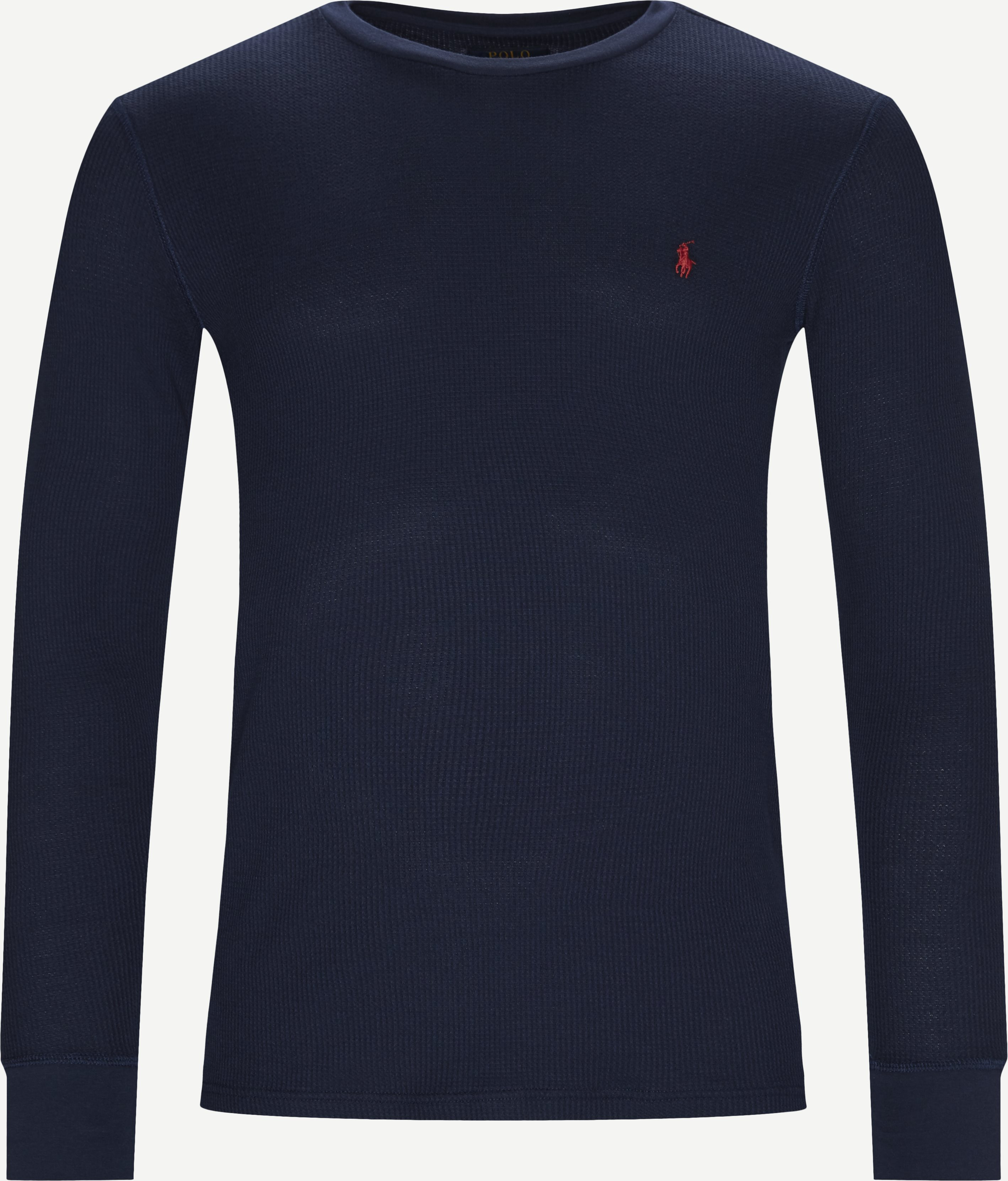 T-shirts - Slim fit - Blå