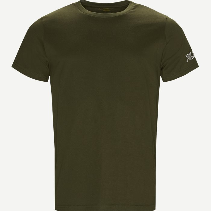 Crew Neck Tee - T-shirts - Regular - Army