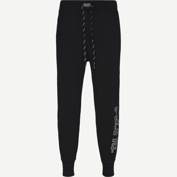 Jersey Jogger Pants - Undertøj - Regular - Sort