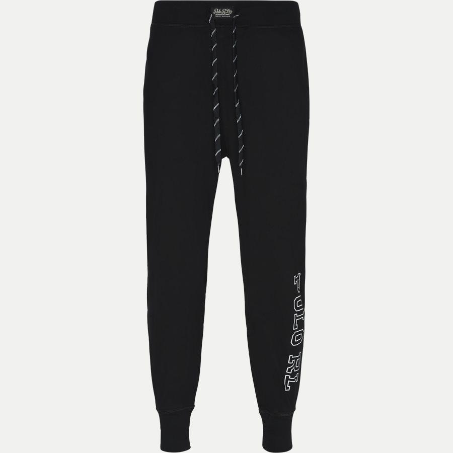 714730609 - Jersey Jogger Pants - Undertøj - Regular - SORT - 1