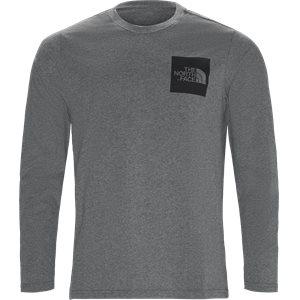 Fine LS Langærmet T-shirt Regular | Fine LS Langærmet T-shirt | Grå