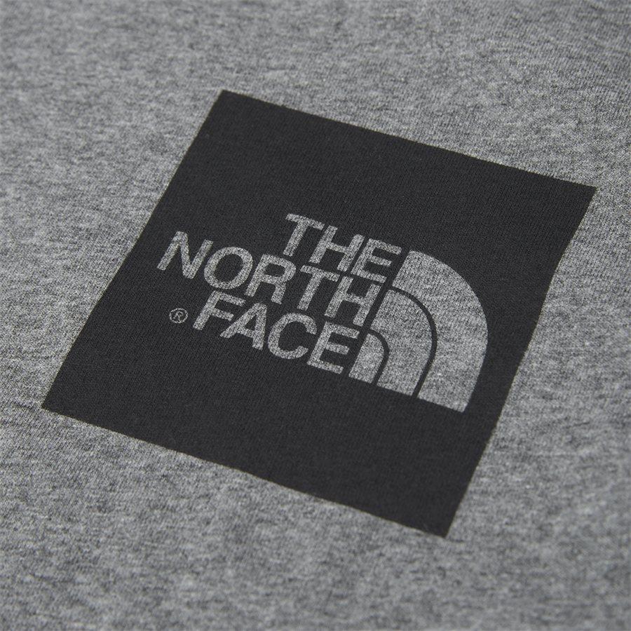 FINE LS - Fine LS Langærmet T-shirt - T-shirts - Regular - GRÅ - 3