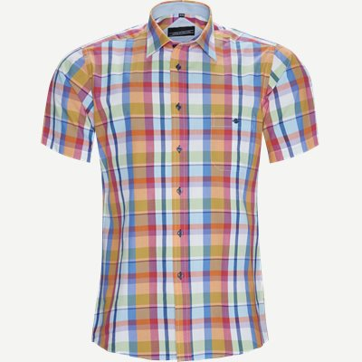 Chong Kortærmet Skjorte Regular | Chong Kortærmet Skjorte | Orange