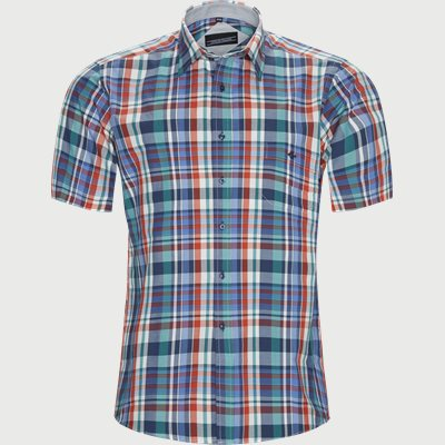 Feng Kortærmet Skjorte Regular | Feng Kortærmet Skjorte | Grøn