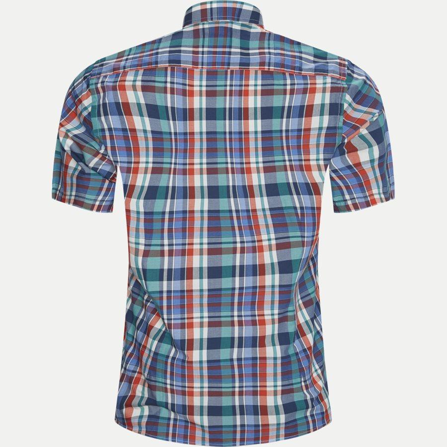 FENG - Feng Kortærmet Skjorte - Skjorter - Regular - GREEN - 2