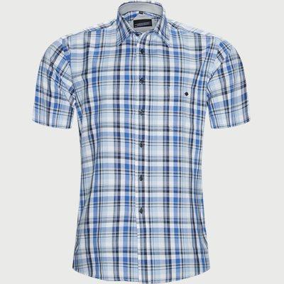 Huang Kortærmet Skjorte Regular | Huang Kortærmet Skjorte | Blå