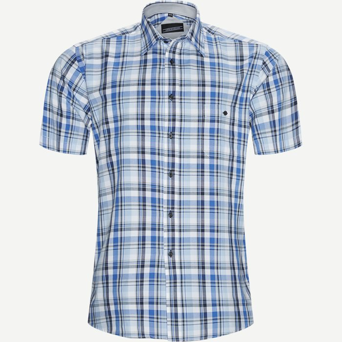 Short-sleeved shirts - Regular - Blue