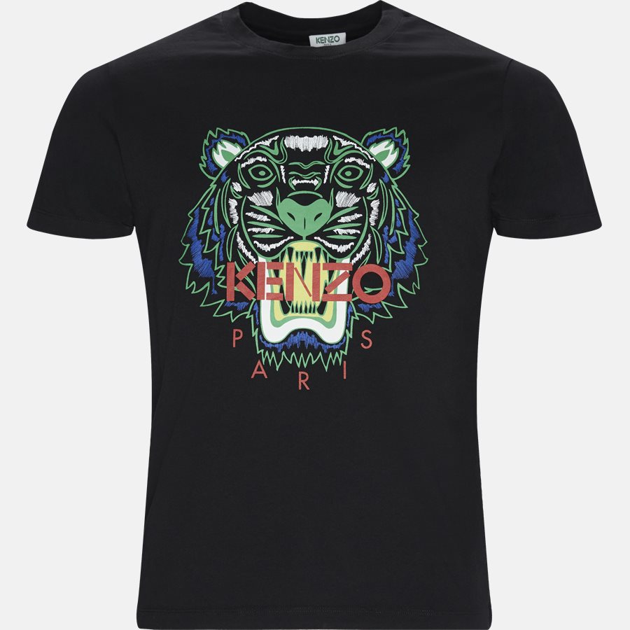 5TSS050 4YA - T-shirts - Slim - SORT - 1
