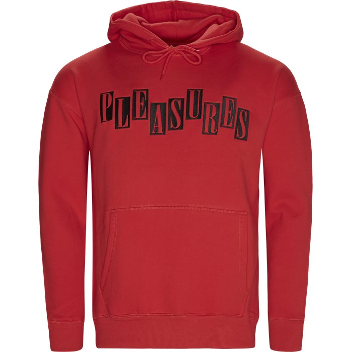 Broadway Hoody - Sweatshirts - Regular fit - Rød