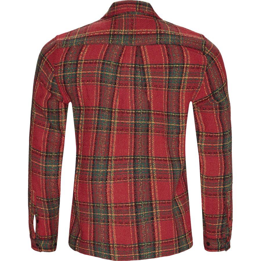 SUFFERING BUTTON UP - Suffering Button Up Skjorte - Skjorter - Regular - RØD - 2