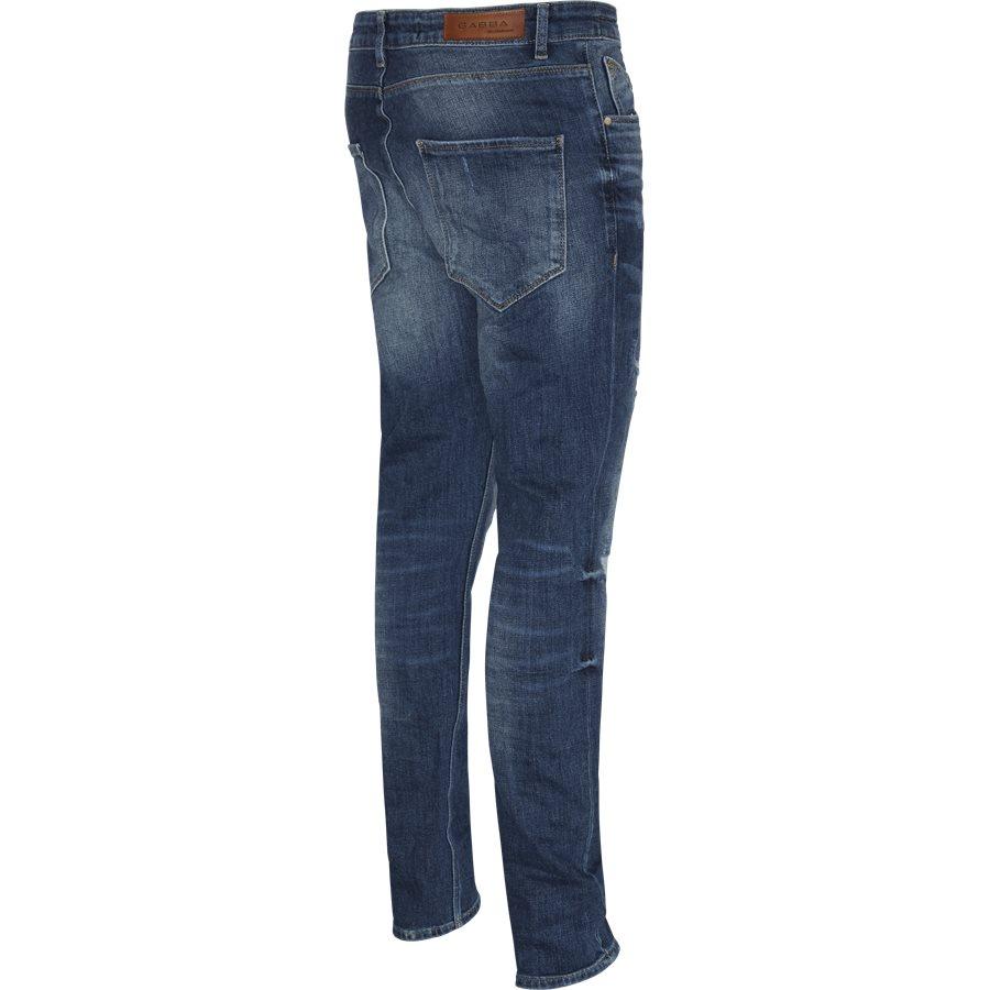 REY K1019 DESTROY RS1105 - Rey Jeans - Jeans - Regular - BLÅ - 3