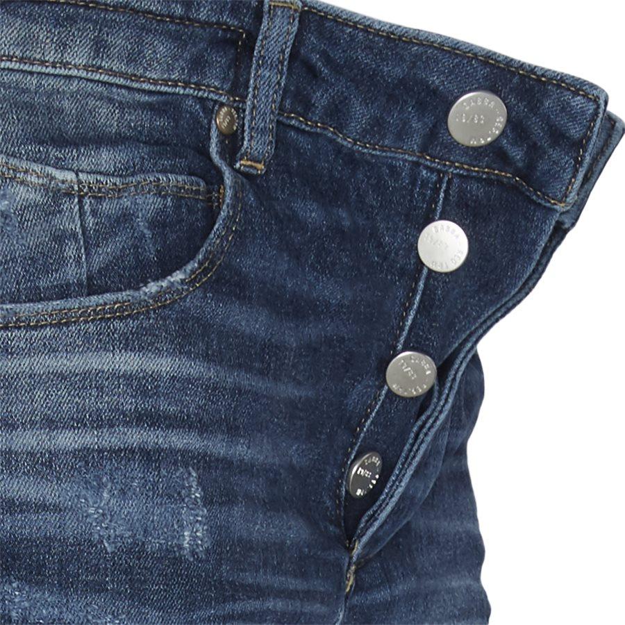 REY K1019 DESTROY RS1105 - Rey Jeans - Jeans - Regular - BLÅ - 4