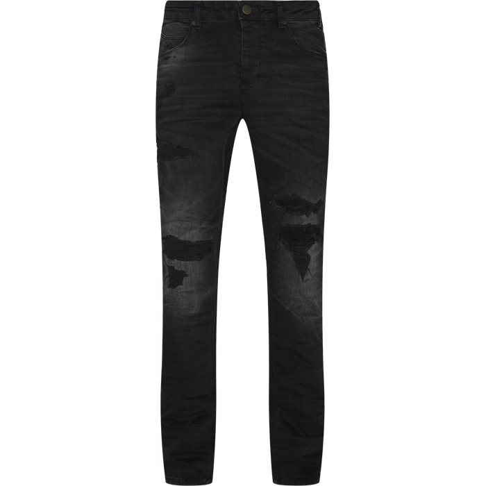 Jeans - Tapered fit - Black