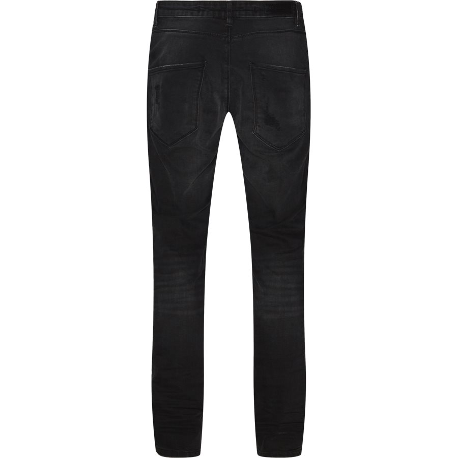 REY K0405 BUSTED RS1091 - Rey Jeans - Jeans - Tapered fit - SORT - 2