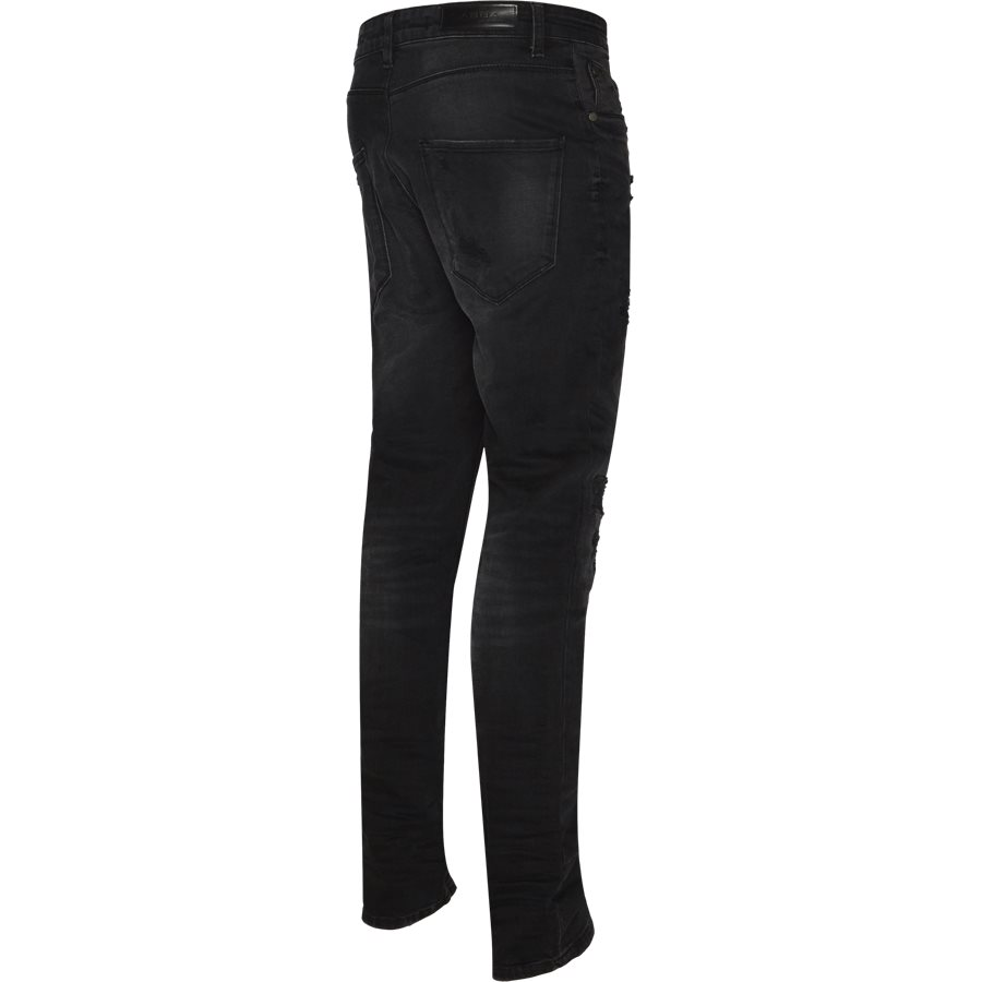 REY K0405 BUSTED RS1091 - Rey Jeans - Jeans - Tapered fit - SORT - 3