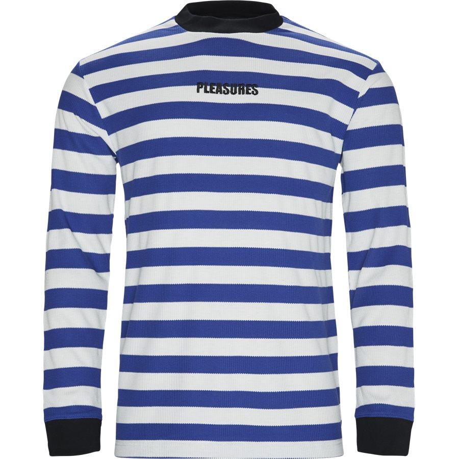 PARADE WAFFLE KNIT - Parade Waffle Knit - Sweatshirts - Regular - BLÅ/HVID - 1