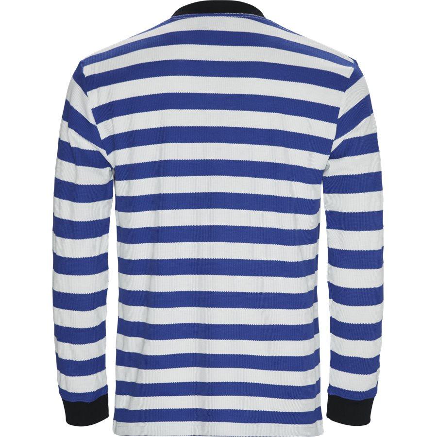 PARADE WAFFLE KNIT - Parade Waffle Knit - Sweatshirts - Regular - BLÅ/HVID - 2