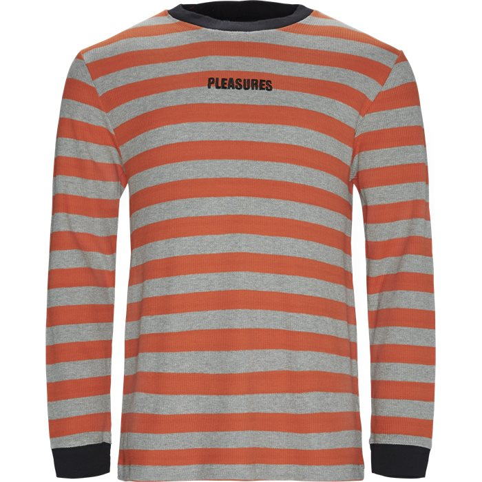 Parade Waffle Knit - Sweatshirts - Regular - Orange