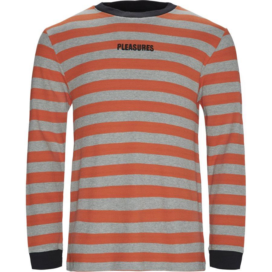 PARADE WAFFLE KNIT - Parade Waffle Knit - Sweatshirts - Regular - ORANGE/GREY - 1