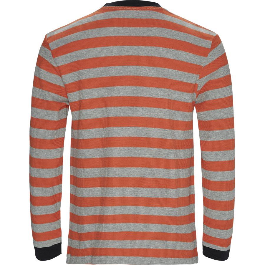 PARADE WAFFLE KNIT - Parade Waffle Knit - Sweatshirts - Regular - ORANGE/GREY - 2