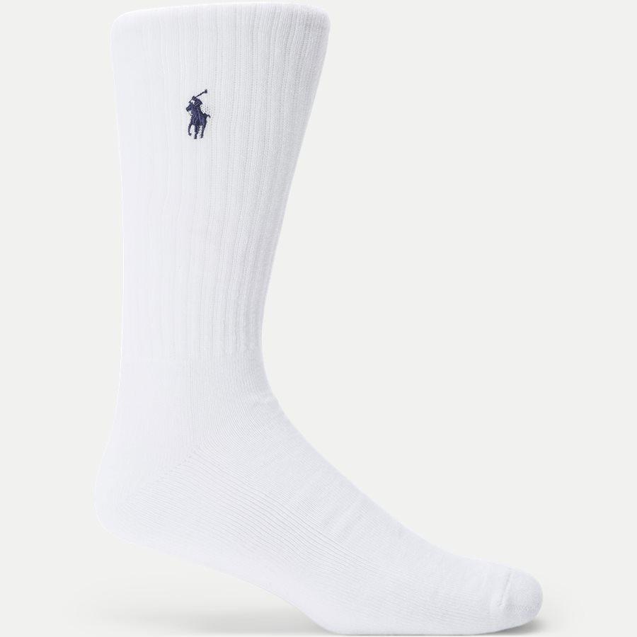 449693059/449723763 - 6-Pack Classic Sport Socks - Strømper - HVID - 2
