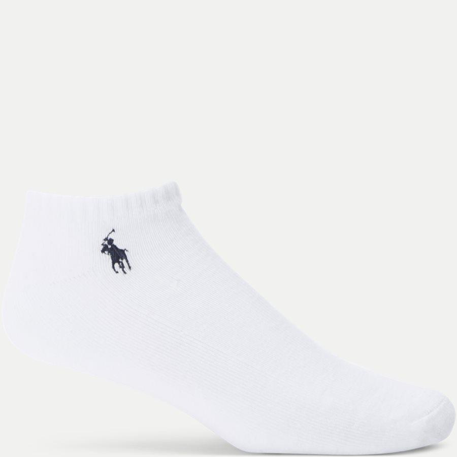 449723765 - 6-Pack Classic Sport Half Socks - Strømper - HVID - 2