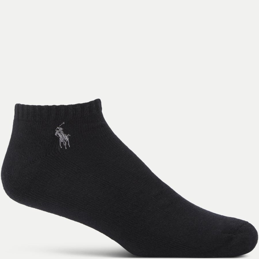 449723765 - 6-Pack Classic Sport Half Socks - Strømper - SORT - 2