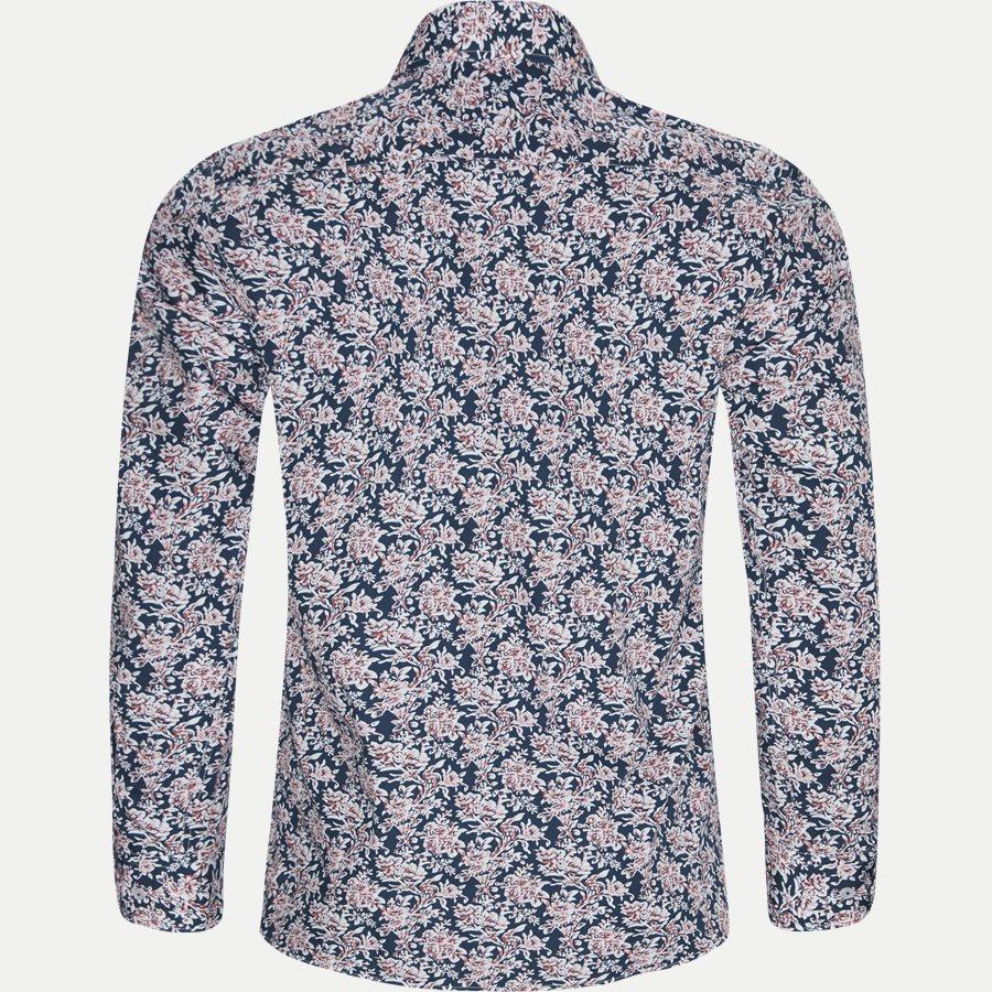 8039-8811 - Blomstret Skjorte - Skjorter - Regular - NAVY - 2