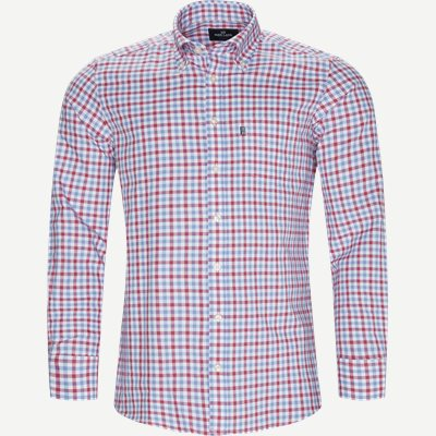 Button-Down Skjorte Regular | Button-Down Skjorte | Rød