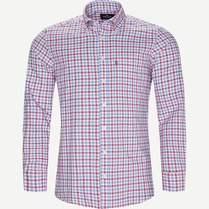 Button-Down Skjorte - Skjorter - Regular - Rød