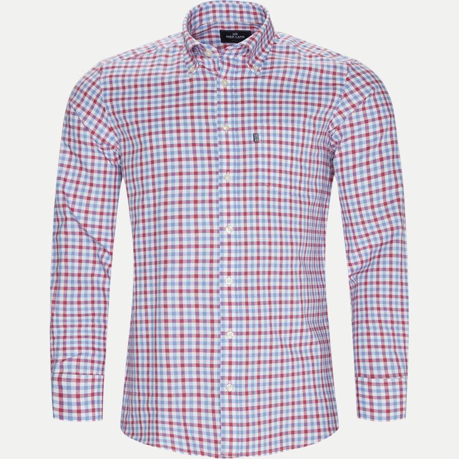 8023-8811 - Button-Down Skjorte - Skjorter - Regular - RØD - 1