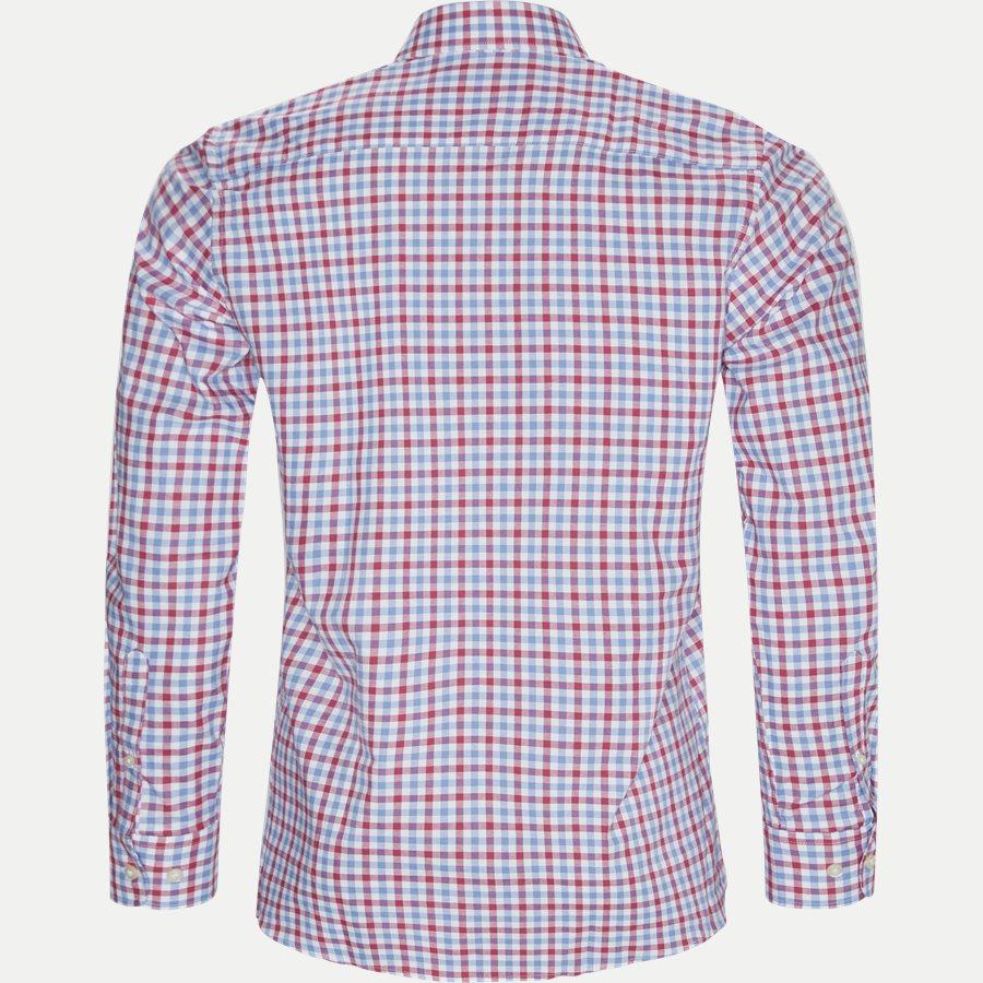 8023-8811 - Button-Down Skjorte - Skjorter - Regular - RØD - 2