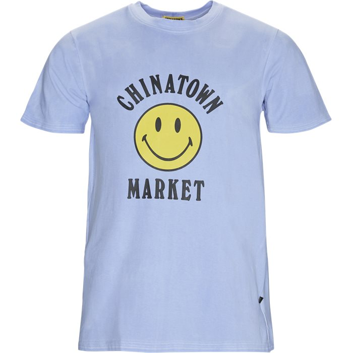 Color Changing Smiley - T-shirts - Regular fit - Blå