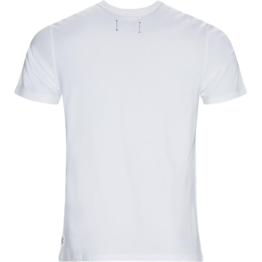 GYM LOGO RC-1125 - Gym Logo  - T-shirts - Regular - HVID/SORT - 2