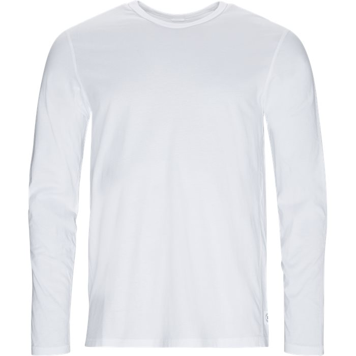 Ringspun Jersey - T-shirts - Regular fit - Hvid
