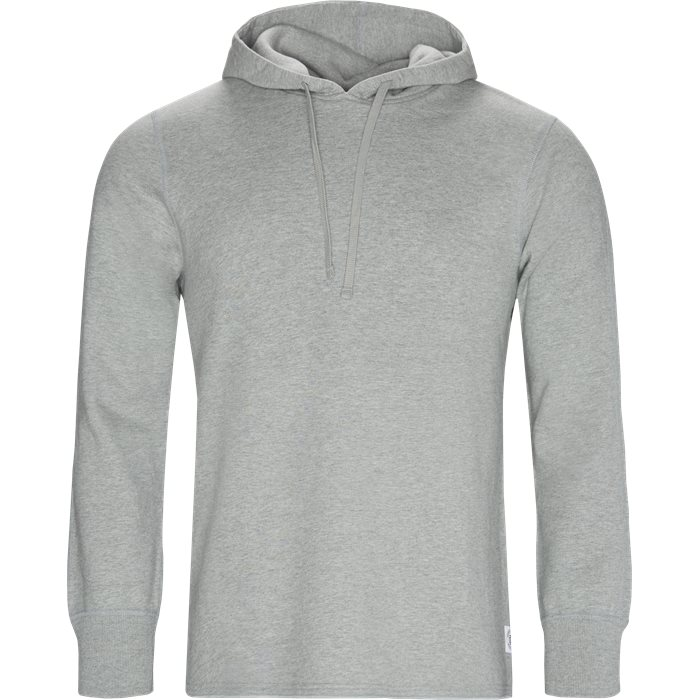 Terry Scalloped - Sweatshirts - Regular - Grå
