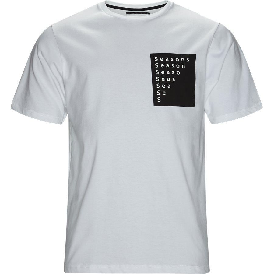 CUMBER - Cumber - T-shirts - Regular - HVID/SORT - 1