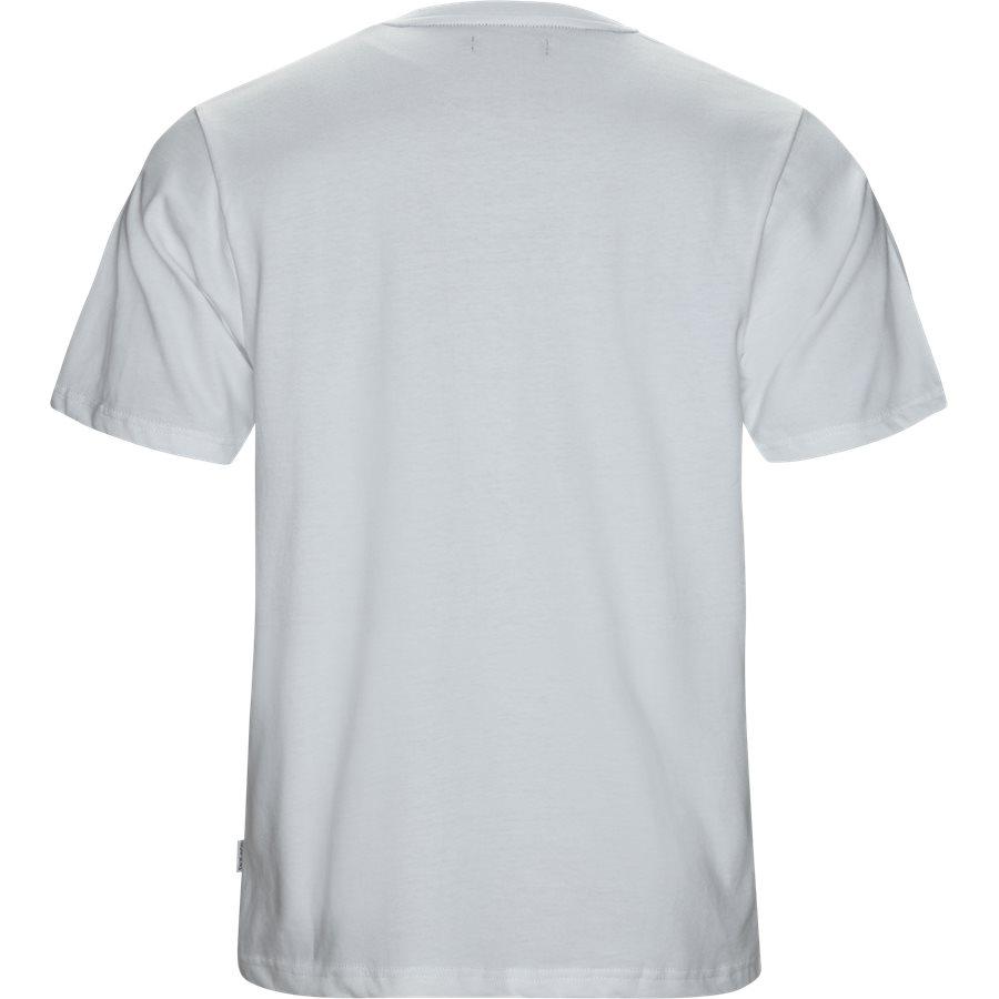 CUMBER - Cumber - T-shirts - Regular - HVID/SORT - 2