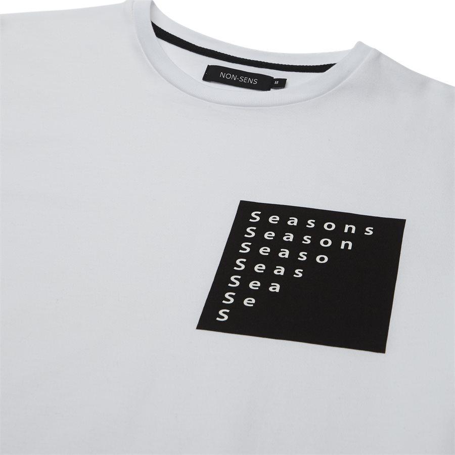 CUMBER - Cumber - T-shirts - Regular - HVID/SORT - 3