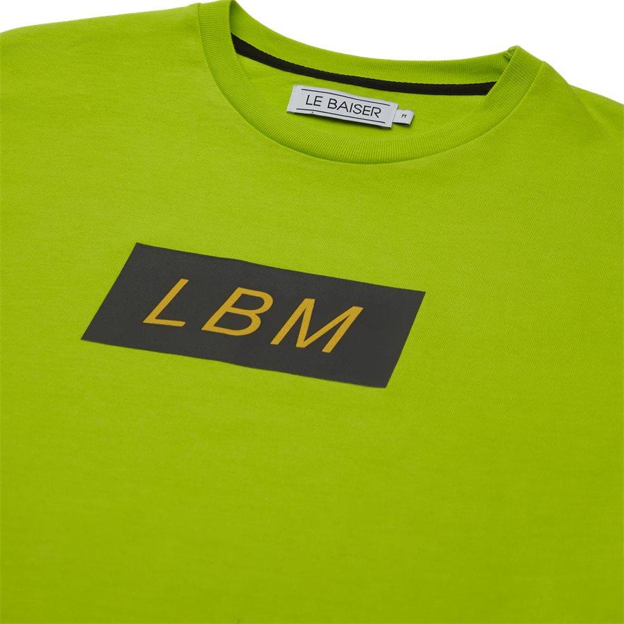 EMELION - Emelion - T-shirts - Regular - NEON/GRØN - 3