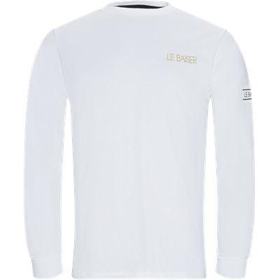 Bigoore Langærmet T-shirt Regular | Bigoore Langærmet T-shirt | Hvid