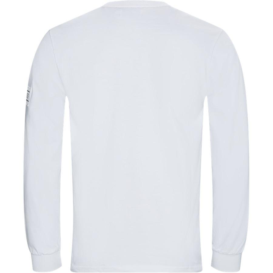 BIGOORE - Bigoore Langærmet T-shirt - T-shirts - Regular - WHITE - 2