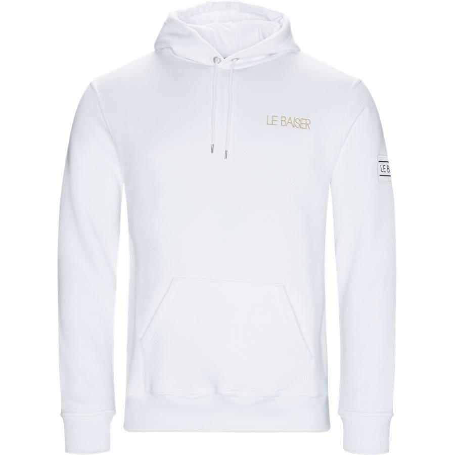 LOUDES - Loudes Hoodie - Sweatshirts - Regular - WHITE - 1