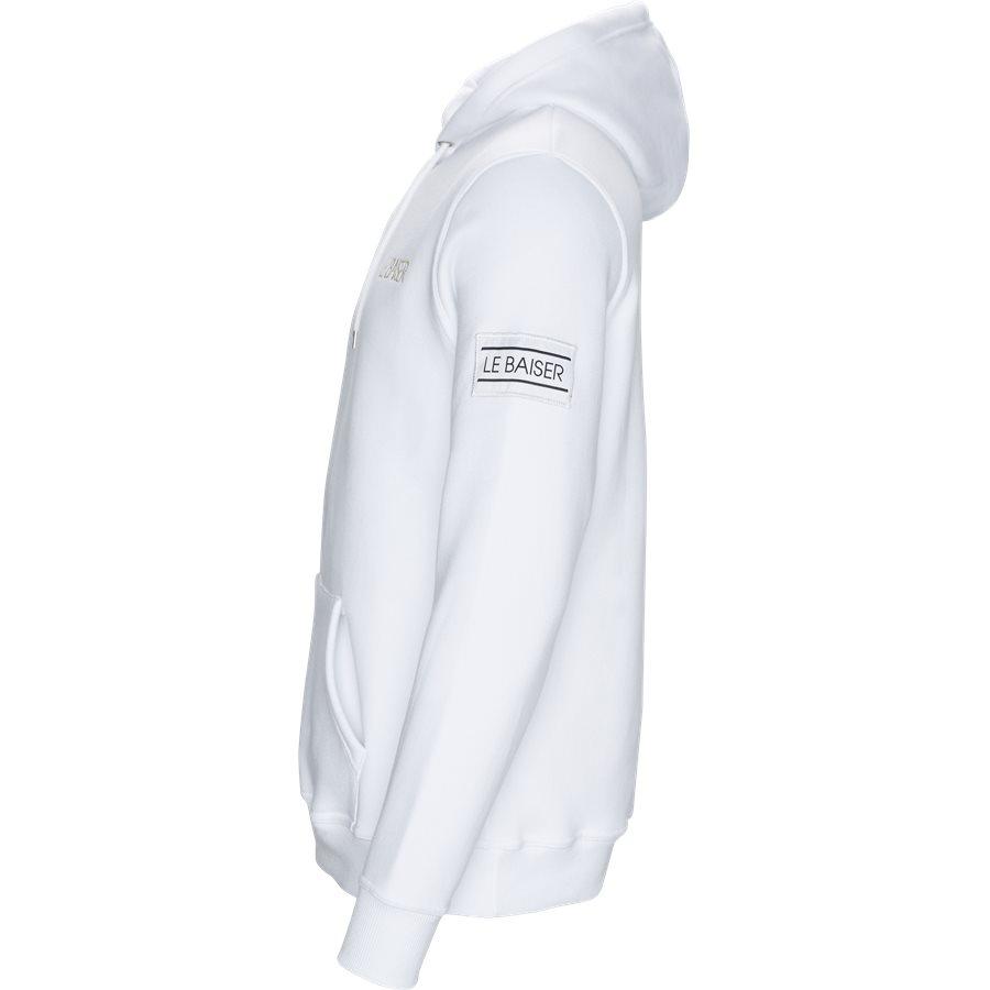LOUDES - Loudes Hoodie - Sweatshirts - Regular - WHITE - 3