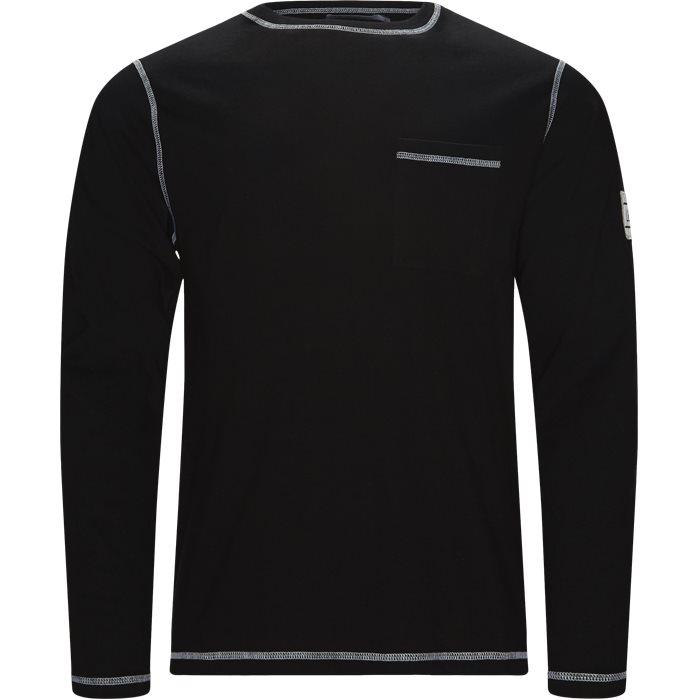 Blanc - T-shirts - Regular fit - Sort