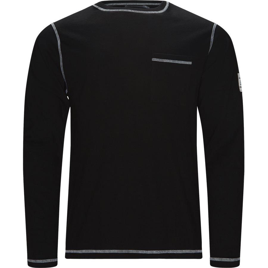 BLANC - Blanc - T-shirts - Regular fit - BLACK - 1