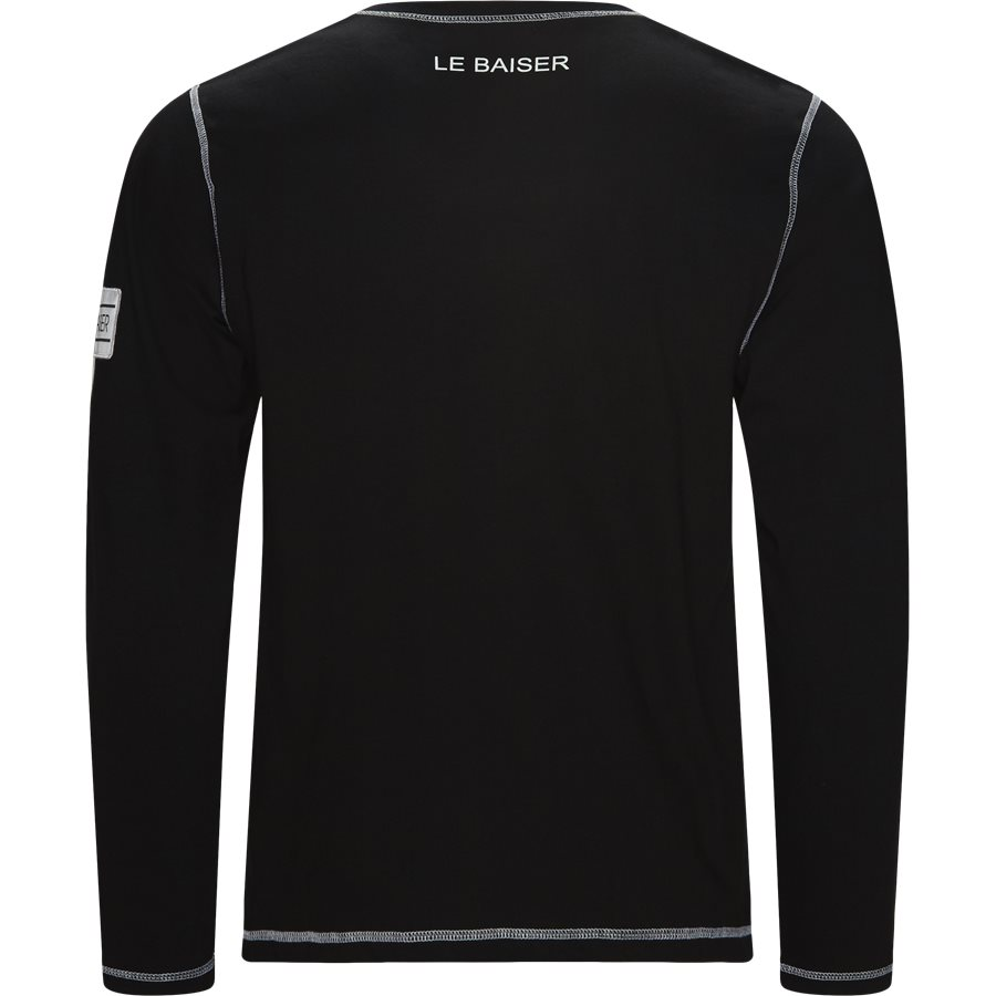BLANC - Blanc - T-shirts - Regular - BLACK - 2