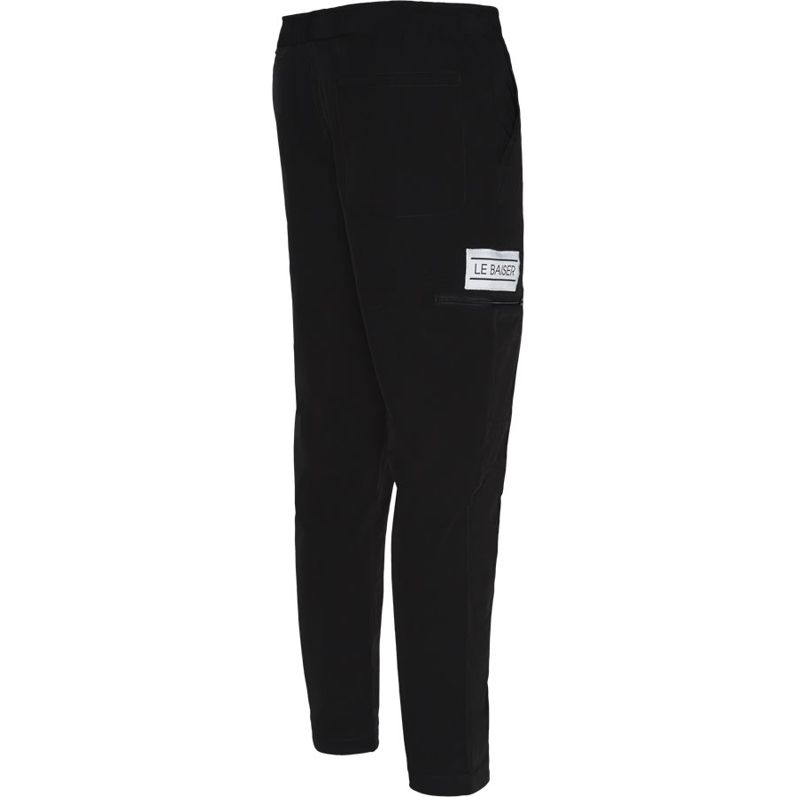 HIMALAYA - Trousers - Regular - SORT - 3