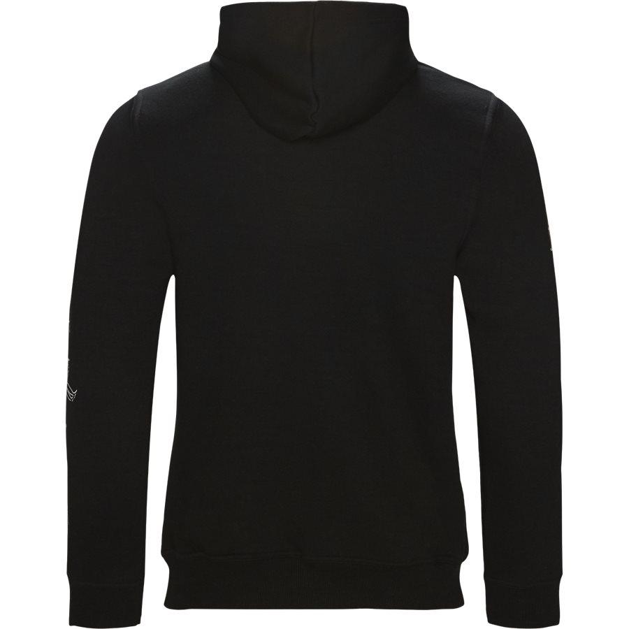 HEFNER - Hefner - Sweatshirts - Regular - BLACK - 2