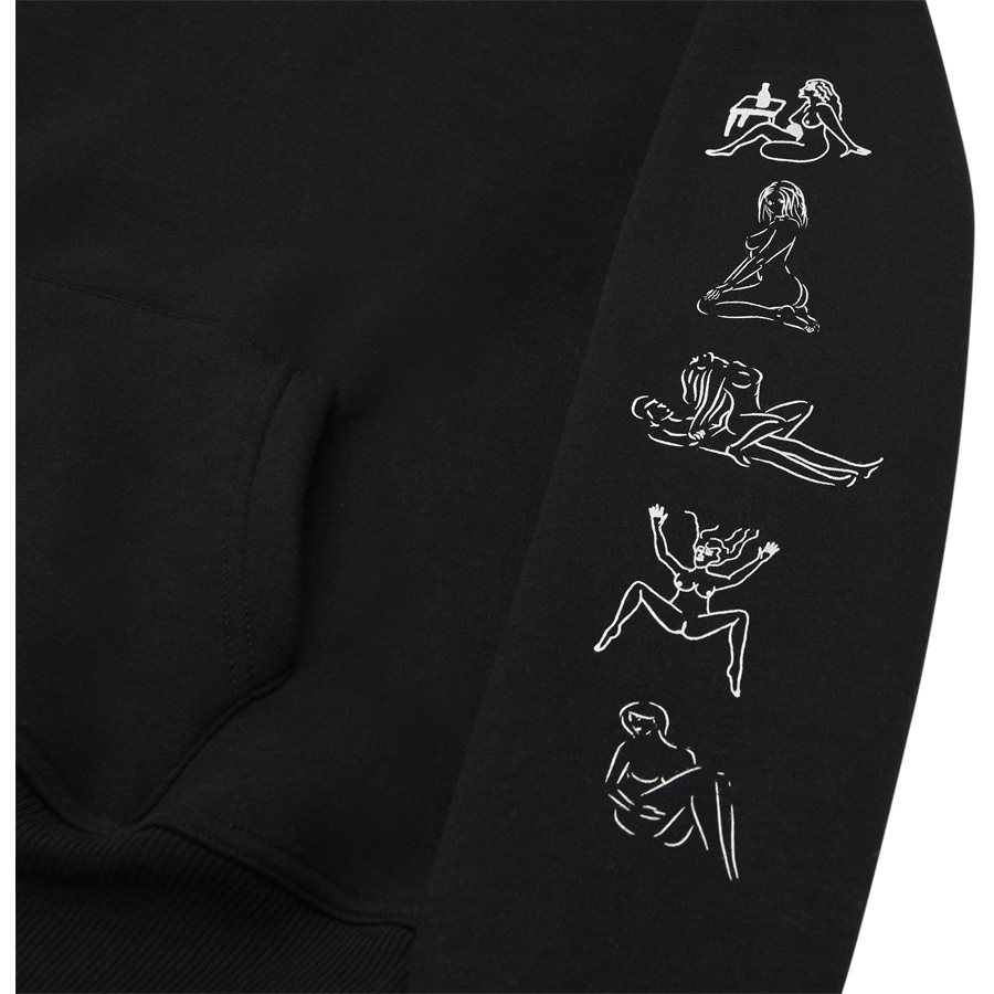 HEFNER - Hefner - Sweatshirts - Regular - BLACK - 5